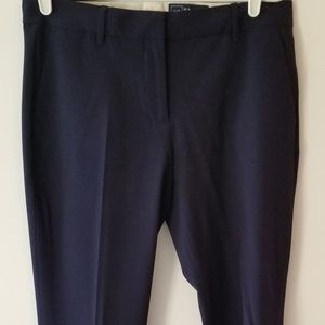 Gap true straight Navy trousers